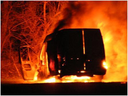 ford transit fire