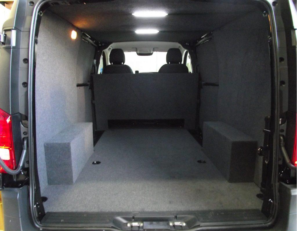 Mercedes Vito Carpeting, Lights & Bulkhead - Vehicle