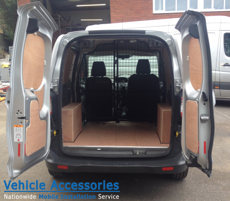 Plylining The New Ford Transit Courier Vehicle