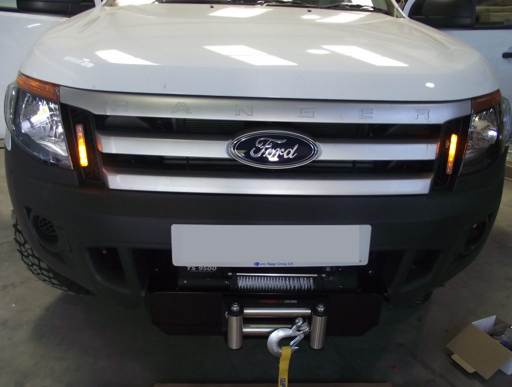 Ford Ranger Lights Winch And Tow Bar Vehicle Accessories Ltd