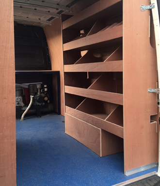 bespoke ply racking