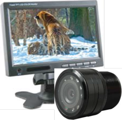 Cko-7 inch monitor and bullet night vision camera