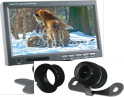 Cko-7 inch monitor with panel mount camera