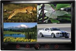 Cko-s-706tf 7 inch lcd quad view display