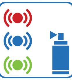 Colour coding sensors icon