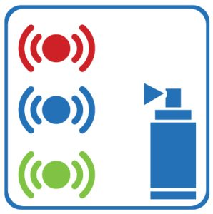 Colour coding sensors icon