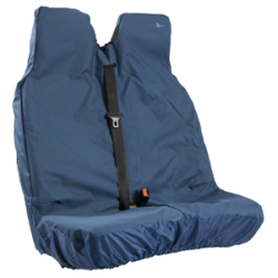 Double Stretch Front Seat Cover