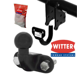 Fixed Flange Ball Towbar (From Witter)