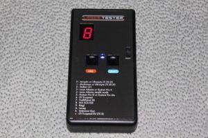 Laser Tester
