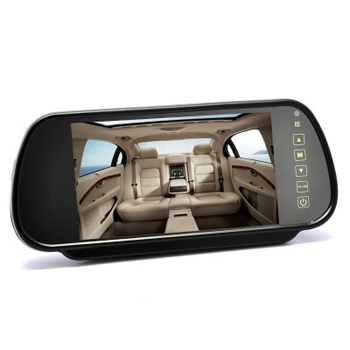 Park Safe 7 Colour Touch Screen Mirror Mount Monitor