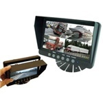 Park Safe 7inch LCD Quad Monitor