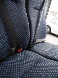 Fiat Scudo rear seat install
