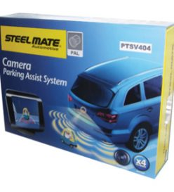 Steelmate Ptsv404 rear parking sensors with camera