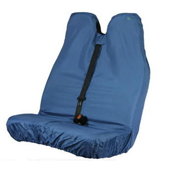 Universal Van Double Front Seat Stretch Cover