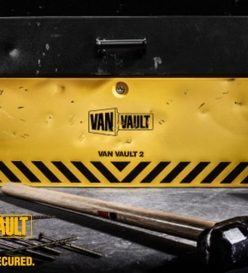 van vault security box vehicle accessories