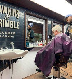 Barber van