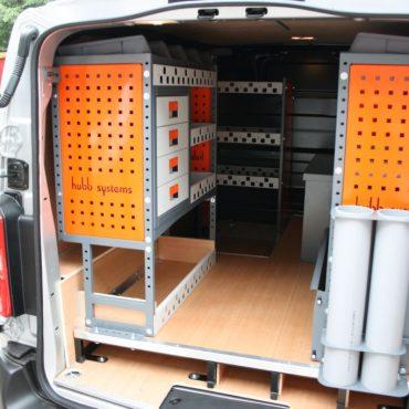 hubb systems van racking