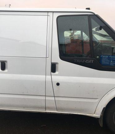 Ford Transit window blanks
