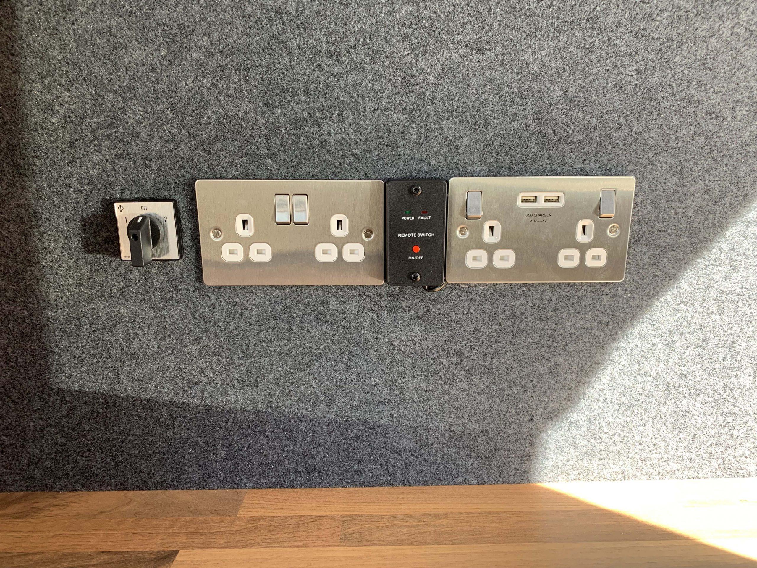 electrics van conversion