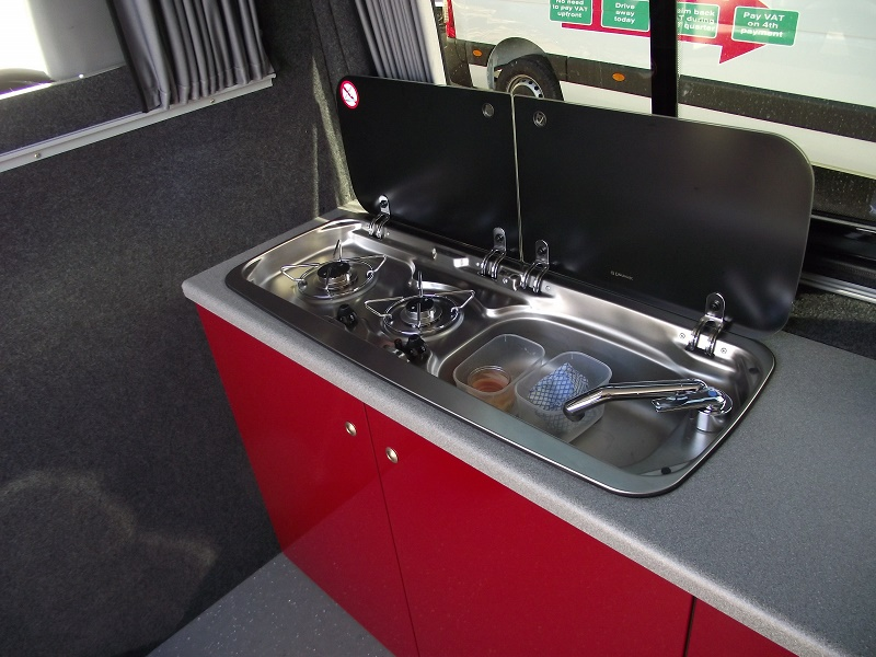 VW crafter sink and oven