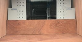 VW Crafter ply lining and vankit racking